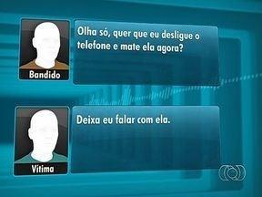 Homem recebe ligação de falso sequestro e grava conversa, em Goiânia - Esta é a segunda vez que o homem recebe a ligação. Na segunda vez, ele decidiu gravar a conversa e levar as informações para a polícia.