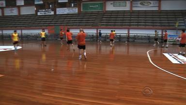 Atlântico de Erechim estreia nesta segunda (21) pela Libertadores de futsal - Assista ao vídeo.