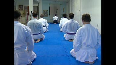 Arte marcial japonesa, Aikido alia equilíbrio mental e preparação física - Adeptos praticam a luta em Dojo em Juiz de Fora. Técnicas são utilizadas no mundo todo