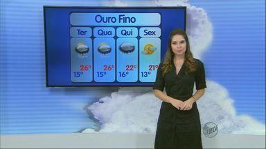 Confira a previsão do tempo no Sul de Minas para essa terça-feira (22) - Confira a previsão do tempo no Sul de Minas para essa terça-feira (22)