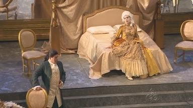 Espetáculo 'Manon Lescaut' abre 18º Festival de Ópera do AM - Ópera de abertura rendeu fama mundial ao autor italiano Giacomo Puccini no século XIX.