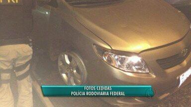 Polícia recupera carro furtado depois de perseguição - Só nessa semana, oito carros foram recuperados