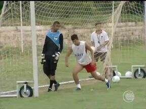 River treina para jogo contra o Barras - River treina para jogo contra o Barras