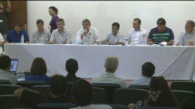 Prefeitos do Vale do Ribeira participam de encontro sobre consórcio de saúde - Eles conheceram os problemas financeiros do consórcio de saúde da região.