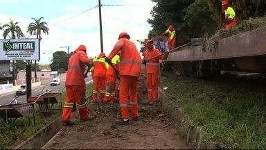 Serviço de limpeza da CBTU impede funcionamento de trem - Fiscal da Viva Ambiental, Luciano da Silva comenta o assunto.