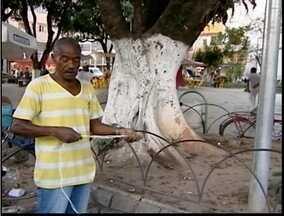 Menino de oitos sofre choque elétrico e caso chama a atenção em Teófilo Otoni - Caso aconteceu em um das principais praças da cidade.
