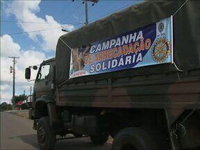 Guarapuavanos demostram solidariedade em campanha de arrecadação de alimentos - Na 18ª Edição da Campanha Arrecadação Solidária, centenas de moradores doaram alimentos e roupas para famílias pobres da cidade.
