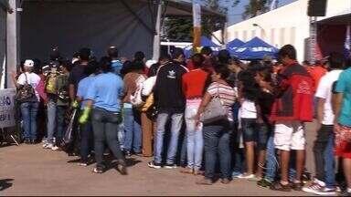Ação Global atraiu cerca de 24 mil pessoas em Ponta Porã - Evento foi realizado em parque da cidade. Foram oferecidos serviços em saúde e lazer.
