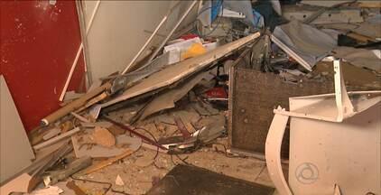 JPB2JP: Bandidos explodem agência bancária na cidade de Cubati - Ação praticada por 8 homens.