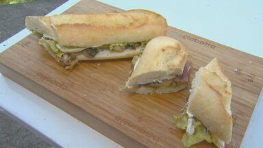 'Prato Fácil' deste sábado ensina receita de sanduíche com presunto parma e champingnon - Fernando Kassab vai a Piracicaba mostrar como é o preparo do sanduíche.