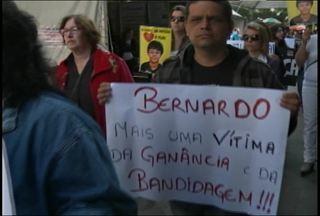 Caminhada homenageia Bernardo Boldrini em Santa Maria, RS - A caminhada aconteceu na manhã de hoje e saiu da Praça Saldanha Marinho.