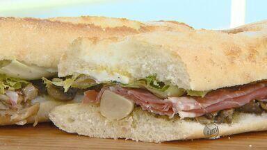 Fernando Kassab ensina a fazer sanduíche com champignon e presunto parma - Fernando Kassab ensina a fazer sanduíche com champignon e presunto parma