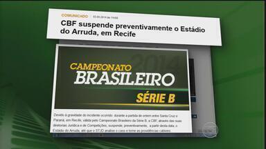 Morte de torcedor repercute internacionalmente e CBF suspende Arruda - Munda fala do crime em Pernambuco e CBF veta estádio preventivamente