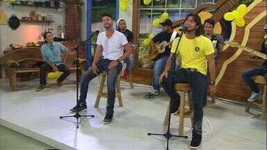 Munhoz e Mariano cantam Camaro Amarelo - A dupla se apresenta no palco do Meu Mato Grosso do Sul