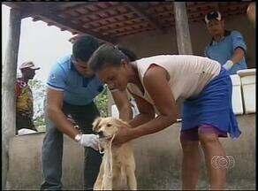 Começa vacinação antirábica na zona rural de Araguaína - Começa vacinação antirábica na zona rural de Araguaína.