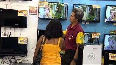 Vendas de televisores podem aumentar em 40% em SE - Vendas de televisores podem aumentar em 40% em Sergipe.