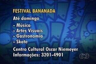 Goiânia sedia mais uma edição do Festival Bananada - Começou em Goiânia o Festival Bananada, um dos mais conhecidos eventos de música alternativa do país.