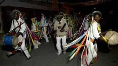 Grupos se reunem em BH para comemorar a abolição da escravatura no Brasil - Os grupos conhecidos como Congado reforçaram as raízes e a cultura negra.