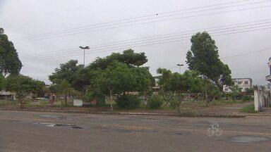 Parte da praça do Santa Rita pertence agora a Diocese de Macapá - UMA PARTE DA ÁREA ONDE FICA A PRAÇA DO BAIRRO SANTA RITA PERTENCE AGORA A DIOCESE DE MACAPÁ. NO LOCAL SERÁ CONSTRUÍDO O SANTUÁRIO DE NOSSA SENHORA DE FÁTIMA.