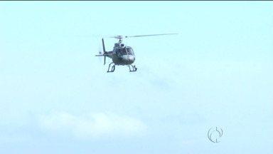 Além do Exército, Marinha e Aeronáutica participam de operação na fronteira - A operação Ágata tem como objetivo reforçar a segurança antes da Copa do Mundo.
