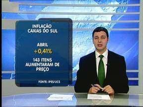 Inflação em Caxias do Sul, RS, acumula alta de 2% no ano - Alimentos foi o grupo que mais contribuiu para o crescimento