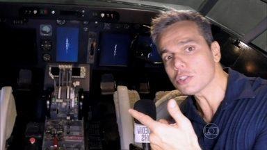 Equipe de efeito especial do Projac cria avião cenográfico - Saiba como é guardado o modelo próprio para as gravações
