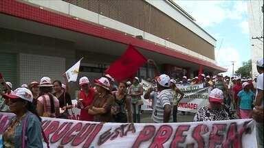 Mais de 40 mil pessoas participam do 'Grito da Terra' - Mais de 40 mil pessoas em 12 estados participaram da manifestação conhecida como o 'Grito da Terra', organizado pela Confederação Nacional dos Trabalhadores na Agricultura (Contag).