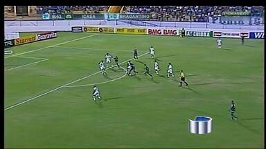 Bragantino perde para o Icasa pela série B - Jogo ficou em 3 x 0 para o time nordestino. Com derrota, Braga entra para a zona de rebaixamento no Campeonato Brasileiro.