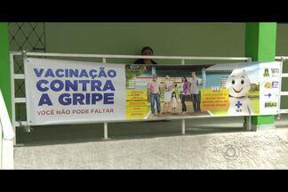 Vacinação contra a gripe só vai até a próxima sexta-feira, na Paraíba - Até agora, pouco mais de 63% da meta foi atingida. Grupos de idosos, crianças e pessoas com doenças crônicas são os principais focos da campanha.