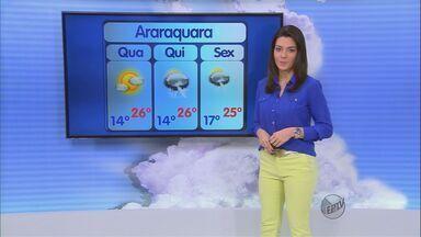 Confira a previsão do tempo para a região de São Carlos, SP, nesta quarta-feira (21) - Confira a previsão do tempo para a região de São Carlos, SP, nesta quarta-feira (21).