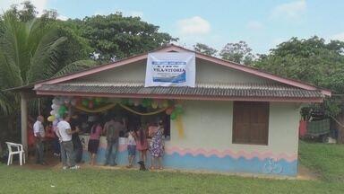 Comunidade localizada a 7 quilômetros de Oiapoque terão assistência saúde - MORADORES DE UMA COMUNIDADE A SETE QUILÔMETROS DA SEDE DO MUNICÍPIO DE OIAPOQUE FINALMENTE TERÃO ONDE BUSCAR ASSISTÊNCIA À SAÚDE. UM MÉDICO CUBANO FOI ENVIADO PARA A NOVA UNIDADE DE SAÚDE.