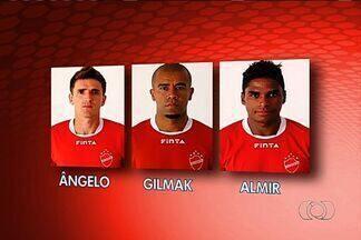 Vila Nova confirma que três jogadores pediram para sair - Gilmak, Almir e Ângelo não fazem mais parte do elenco colorado.