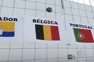 Escolas de Mogi das Cruzes ensinam sobre a cultura da Bélgica - A seleção belga ficará em Mogi das Cruzes para a disputa da Copa do Mundo.