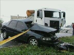 Duas pessoas morrem em acidentes em rodovias na região de União da Vitória - As duas mortes aconteceram em menos de dez horas.