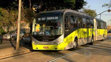Novas linhas do BRT da Pampulha entram em operação a partir deste sábado em BH - Objetivo da BHTRans é corrigir as falhas do sistema e desafogar o trânsito na região.