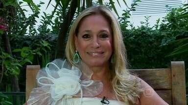Susana Vieira se veste de noiva para lembrar personagem da carreira - Atriz esteve em versão para TV de peça de Nelson Rodrigues
