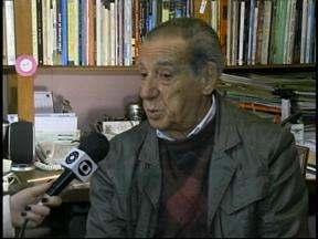 Escritor Colmar Duarte é empossado na Academia Rio-Grandense de Letras - Ele ocupará a Cadeira nº. 40, cujo patrono é o poeta uruguaianense Alceu Wamosy.