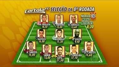 Confira a seleção da 8ª rodada do Cartola FC - Confira a seleção da 8ª rodada do Cartola FC