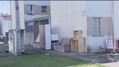 Força Tarefa faz ação de reintegração de posse em Cubatão, SP - 52 moradias estavam em local invadidas