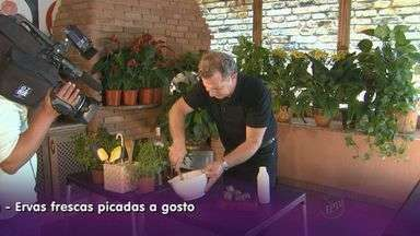 Prato Feito traz receita de molho de maionese com ervas frescas - Opção prática pode ser utilizada como patê para aperitivos.
