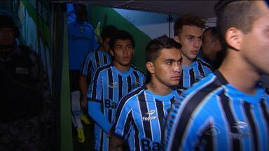 Grêmio se prepara para confronto com Palmeiras no domingo (1) - Tricolor é o sétimo colocado no Brasileirão.