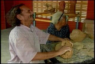 Está sendo velado em Petrolina o corpo de José Vicente, viúvo da artesã Ana das Carrancas - Ele morreu durante a madrugada depois de sofrer um infarto