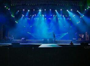 Confira detalhes sobre a iluminação e o som do palco principal da festa junina em Caruaru - Local receberá mais de 60 atrações durante o evento.