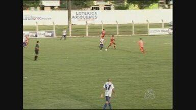 Ariquemes e Vilhena fazem último jogo da final do Rondoniense neste sábado - O primeiro jogo ficou empatado e se persistir o placar haverá disputa de pênaltis.