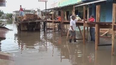 Em Manaus, alerta de cheia prevê que Rio Negro atinja 29,60 metros - Rio registra de 29,29m nesta sexta; capital está em situação de emergência; subida das águas do Negro recebe influência do Rio Madeira, diz CPRM.
