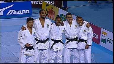Brasileiros se destacam no Desafio Internacional de Judô em BH - Foram cinco vitórias em cinco lutas contra os Argentinos. Evento foi realizado no Minas Tênis Clube.