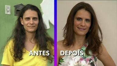 Você Mais Poderosa: marido e irmã aprovam a transformação de Bruna Grassani - Ana Maria mostra o antes e depois do visual da veterinária