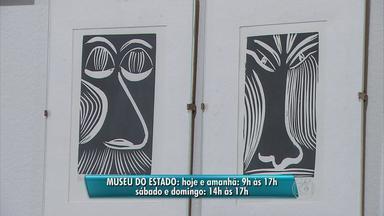 Exposição de xilogravuras pode ser conferida até domingo no Museu do Estado de Pernambuco - 'Impressões' reúne peças que mostram a sensibilidade de três artistas plásticos especialistas na arte bastante popular no interior do Nordeste.