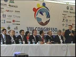 Congresso AMA reúne representantes de mais de 100 prefeituras do noroeste paulista - Hoje é o 2º dia do congresso da AMA, da Associação dos Municípios da Araraquarense em Catanduva (SP). Representantes de mais de 100 prefeituras discutem assuntos de interesse público e maneiras de melhorar a administração.
