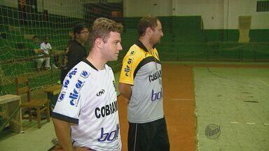 Santa Rita do Passa Quatro e Araraquara disputam final da Taça EPTV de Futsal - Santa Rita do Passa Quatro e Araraquara disputam final da Taça EPTV de Futsal.
